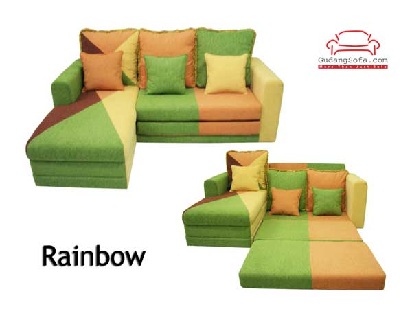 Sofa Bed Rainbow